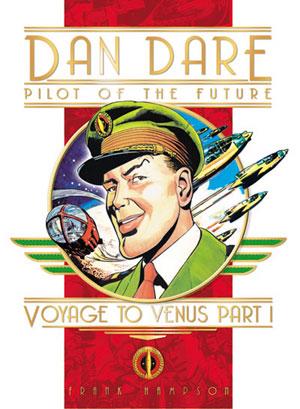 Titan Books Dan Dare reprint cover