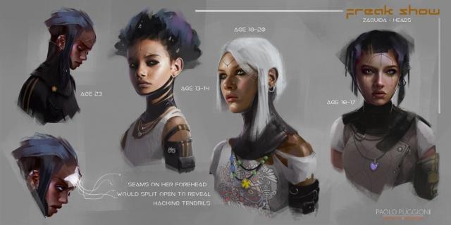 Zaquida  Character Sheet 1